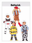 Butterick 3244 size 2-5, 6-8 sewing Pattern costume space fireman cowgirl cowboy