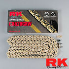 RK GB520GXW MOTORCYCLE MOTORBIKE CHAIN GOLD