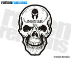 Molon Labe Skull Decal Gun Rights Come and Take Them 2A Spartan Sticker EMV