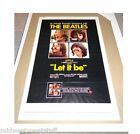 Beatles Let It Be Original USA Movie Poster 1970 27x41