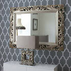 John Lewis Ornate Leaf Wall Mirror 122cm x 91cm Champagne - NEW - RRP £495.00