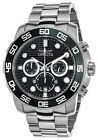 Invicta Men's Pro Diver Quartz Chronograph Stainless Steel Watch