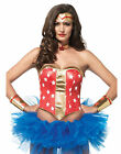 Super Star Hero Comic Book Superhero Adult Womens Costume Kit