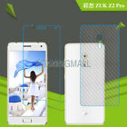 Protective 9H Tempered Glass+PET Back Screen Film For Lenovo ZUK Z2 Pro