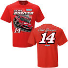 2017 CLINT BOWYER #14 HAAS SPOILER RED NASCAR TEE SHIRT