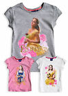 Girls Beauty And The Beast T Shirt New Kids Disney Princess Belle Tops 3 - 6 Yrs