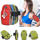 Sports Running Riding Arm band Case Holder Zipper Bag Pouch For iPhone 6 Plus