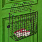 Extra Large Letterbox Cage Door Letter Guard Basket Post Mail Catcher - 3 Size