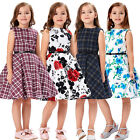 New Kids Girls Party Prom Dresses Flower Princess  Graduation party dress