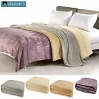 250gsm Royale Ultra Soft and Warm Blanket by Alastairs SINGLE DOUBLE QUEEN KING