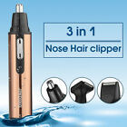4 in1 Men's Electric Personal Ear Neck Eyebrow Nose Beard Hair Trimmer Remover