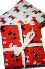 Fabric-Craft-Patchwork-Handmade Gifts- SCOTTY DOG FAT QUARTER -Sewing Bee