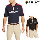 Ariat Mens New Team Polo Shirt - FREE UK DELIVERY