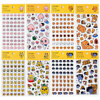 Kakao Friends Clear Face & Action Sticker Diary Planner Calendar Decor Scrapbook