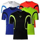 Jeansia Mens Short Sleeves T-Shirts Breathable Quick Dry Sport Tee Tops LSL161