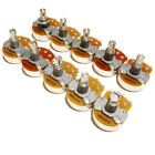 10 Electric guitar pots / Potentiometers Tone / Volume Linear / Log 250k 500k