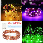 2M/3M/10M LED Battery Lights Christmas Lights Xmas Outdoor Fairy String Lights