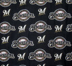 Milwaukee Brewers Dog Bandana MLB Dog over the collar / New design