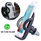 360�� Universal Car Mount Air Vent Phone Holder Cradle For Cell Phone iPhoneX S8