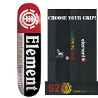 ELEMENT Skateboards SECTION DECK skateboard 7.75 with LOGO GRIPTAPE image