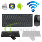 Mini 2.4G DPI Optical Wireless Keyboard and Mouse Combo for Tablet Desktop PC