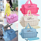 New Mutifunction Mummy Baby Nappy Changing Bags Diaper Large Capacity 3 Colors