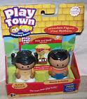 Learning Curve Play Town Maria & Pedro Wooden Figures New