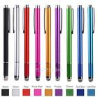 2 In1 High Precision Point Capacitive Touch Screen Stylus Pen For iPhone iPad