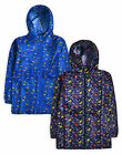 Boys Summer Jacket New Kids Coat Water Resistant Printed Anorak Parka 2 - 8 Yrs