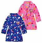 Girls Minions Dressing Gown New Kids Despicable Me Winter Bathrobe Age 3-8 Years