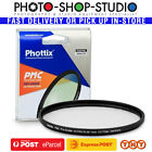 Phottix Clear UV Haze PMC Camera Lens Filter Schott Glass 14 Layers Free Postage