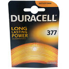 Duracell 377 SR626SW Silver Oxide 1.5V Watch Batteries QUANTITY 1-4