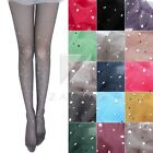 Lady Bling Rhinestone Pantyhose Breathable Tights Thigh Stockings Lingerie