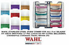 WAHL STAINLESS Steel Attatchment GUIDE COMB For FIGURA,BRAVURA 5 in 1 Clipper