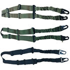 Tactical 2 Two Dual Point Bungee Rifle Gun Sling Hunting Sling System Strap New