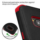for Samsung GALAXY S8 / S8 PLUS RED BLACK TUFF PROTECTOR HYBRID SKIN case Cover