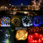 LED Solar Battery Power String Fairy Lights Christmas Wedding Garden Party Decor