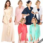 Bridal Bridesmaid Wedding Prom Chiffon Shawl Stole Wrap Bolero Shrug Scarf Cape