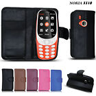 Leather Wallet Flip Case Cover for New Nokia 3310 (2017) Mobile Phone
