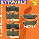 FRONT REAR Brake Pads BMW R 1150 R Rockster Edition 80 2004