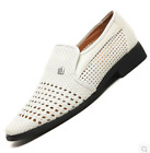 Men Pull On Hollow Hole Breathable British Style Shoes Formal Dress Business Hot