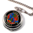 Bruce Scottish Clan Pocket Watch