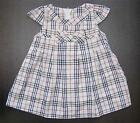 BABY GIRL DRESS Designer Outfit Beige Brown Check Pattern Casual Formal Clothing