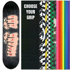 """TOY MACHINE Skateboard Deck FISTS XL 8.5"""" (Ast Clrs) with GRIPTAPE"""