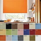 ROLLER BLINDS in Aquarius RADIANT Fabric - straight edge **BARGAIN**
