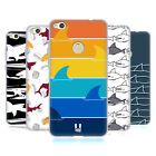 HEAD CASE DESIGNS SHARK PRINTS SOFT GEL CASE FOR HUAWEI P8 LITE (2017)