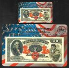 Tim Prusmack Money Art on Phone Cards (Pair) - $50.00 US Note - ANA Show 2000