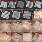 Layering Stencils DIY Scrapbooking Album Home Decor Embossing Crafts Templates