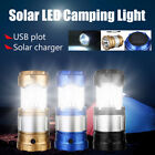 3W USB Rechargeable Charger Solar LED Flashlight Camping Tent Light Lantern Lamp