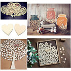 heart decorations - 100pcs Rustic Wooden Wood Love Heart Wedding Table Scatter Decoration Crafts